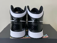 Nike Air Jordan 1 MID SE Black White All Star Carbon Fiber GS Youth DD2192 001
