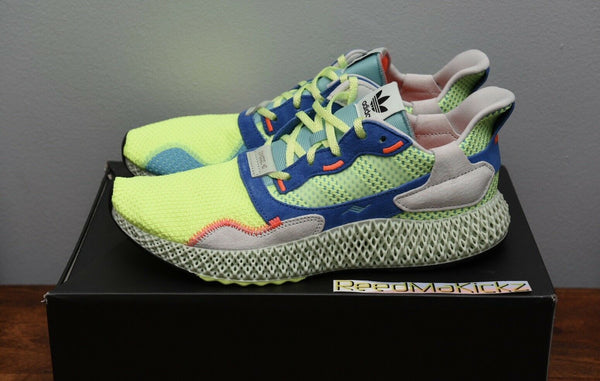 Adidas ZX 4000 4D Easy Mint Mens sizes EF9623