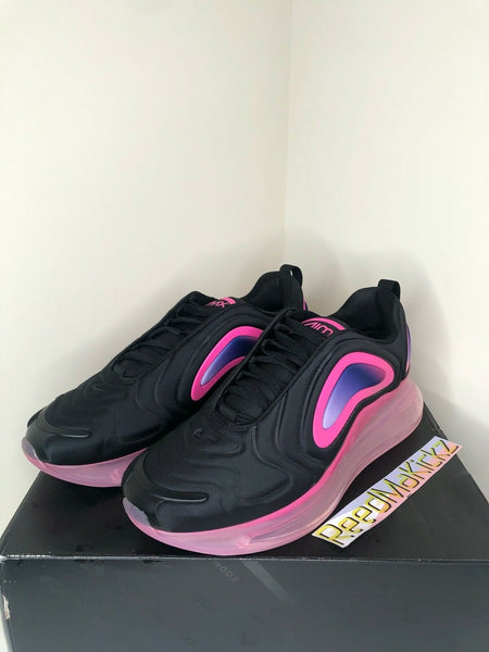 Nike Air Max 720 Black Pink Blast Mens AO2924 005