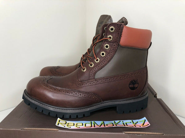 "Timberland 6"" Boots Legends Club Waterproof Brogue Mens TB0A1GJB"