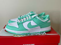 Nike Dunk Low White Green Glow Womens DD1503 105