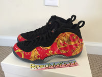 Nike Air Foamposite one Supreme SP Red 100% AUTHENTIC PRE OWNED