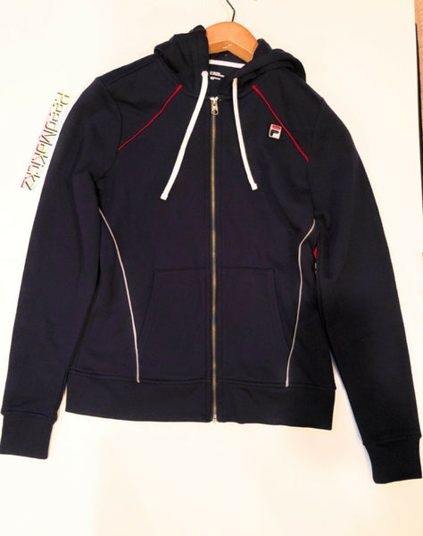 Fila Heritage Hoodie Romance Navy Womens sizes Retail $65