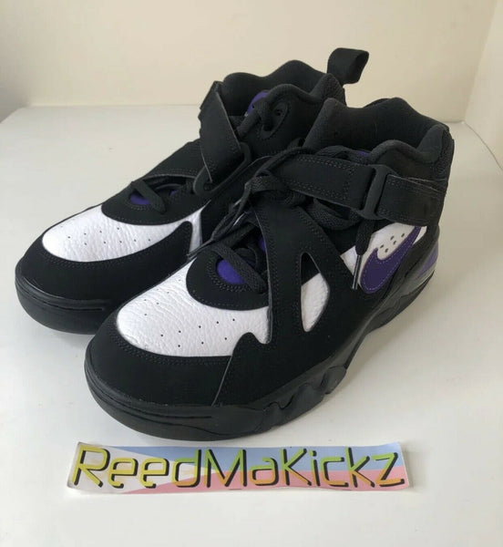 Nike Air Force Max CB Black White Purple Mens NO BOX AJ7922 004