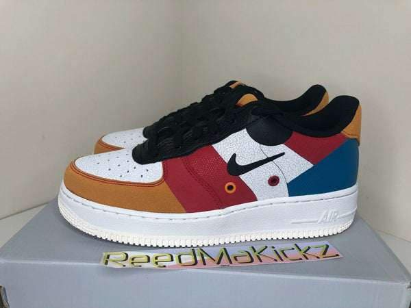 Nike Air Force 1 Low PRM Game Change Sail Black White Grade school BQ2438 100