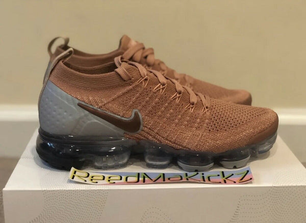 Nike Air Vapormax Flyknit 2 Rose Gold womens sizes 942843 602