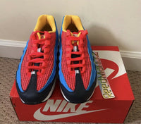 Nike Air Max 95 NOW GS Spider Man Bright Crimson AV2289 600