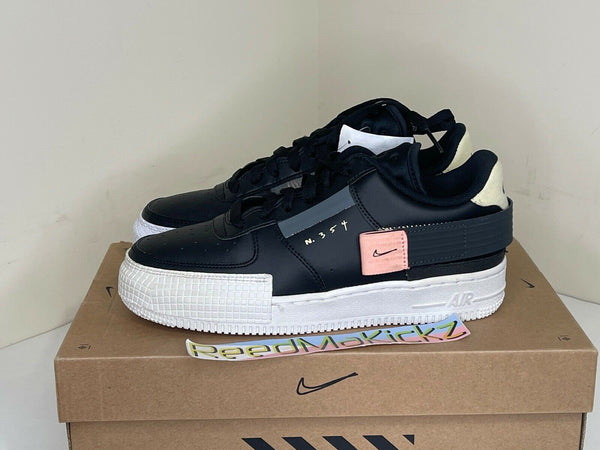Nike Air Force 1 Type Black Anthracite Grade school PRE OWNED BQ4793 001