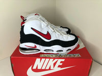 Nike Air Max Uptempo '95 White Red Black DAMAGED BOX Mens CK0892 101