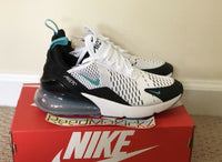 Nike Air Max 270 GS White Dusty Cactus Grade school youth sizes 943345 101