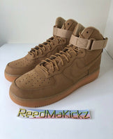 Nike Air Force 1 High '07 LV8 WB Wheat Flax NO BOX Mens 882096 200