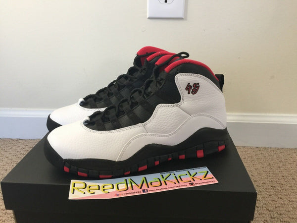 Nike Air Jordan X 10 Retro 2015 Chicago Double Nickel Grade school Youth Sizes