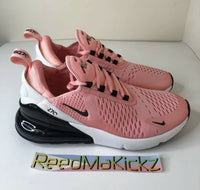 Nike Air Max 270 Bleached Coral Pink GS NO BOX Grade school CI5679 600