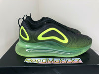 Nike Air Max 720 Black Volt Mens AO2924 008