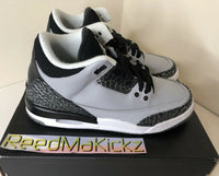 Nike Air Jordan 3 Retro Wolf Grey Grade school Youth Sizes 398614 007