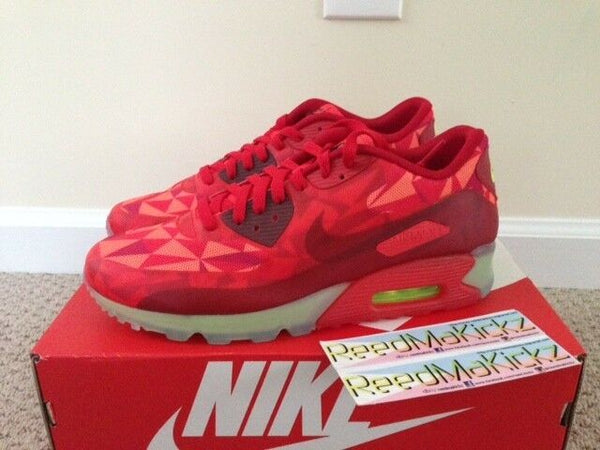 Nike Air Max 90 Ice Gym Red Mens sizes