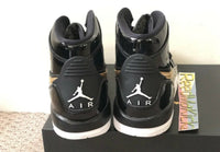 Nike Air Jordan 312 Legacy Black Metallic Gold Grade school Youth AT4040 007