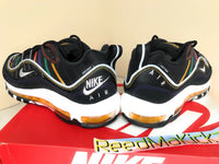 Nike Air Max 98 Premium Martin Black Flash Crimson womens sizes CI1901 023