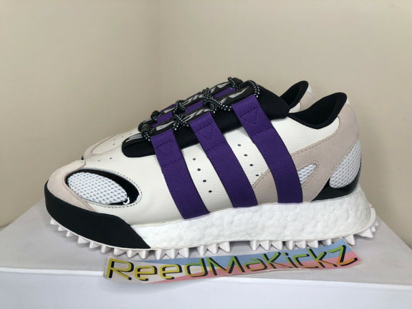 Adidas AW WangBody Run Alexander Wang Cream White Purple Mens EF2437 Retail $220