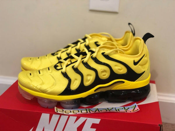 Nike Air Vapormax Plus Bumble Bee Opti Yellow Mens BV6079 700