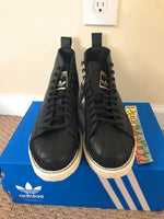 Adidas Superstar Boot Black White Womens sizes AQ1213