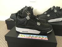 Nike Air Jordan 4 IV Retro LS Oreo GS 2015 Grade school youth sizes