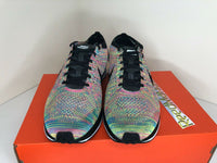 Nike Flyknit Racer 2016 Multi Color Grey Tongue Mens 526628 004