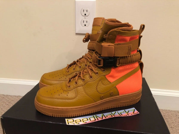 Nike SF AF1 Special Field Air Force 1 QS Desert Ochre Mens sizes 903270 778