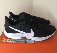 Nike Zoom Pegasus 36 Black White Mens AQ2203 002
