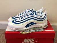 Nike Air Max 97 Ultra '17 SE Sprite White Blue Nebula womens sizes AH6806 101