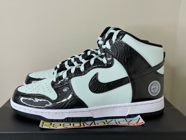 Nike Dunk High All Star 2021 Barely Green Black Mens DD1398 300