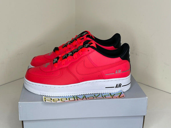 Nike Air Force 1 Low LV8 3 Laser Crimson Grade school CJ0492 600