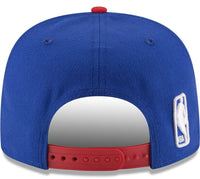 New Era Philadelphia 76ers Sixers 2tone 9Fifty Adjustable Snapback Hat Mens