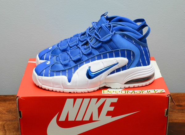 Nike Air Max Penny 1 Pinstripe Gam Royal Blue Mens sizes AV7948 400
