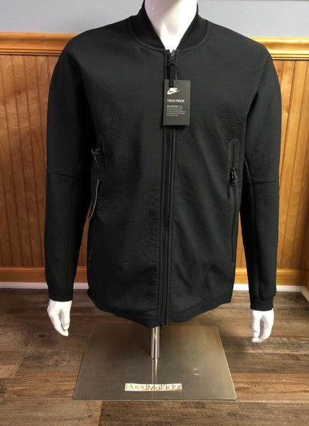 Nike Tech Pack Woven Track Jacket Black Mens 928561 010 Retail $140