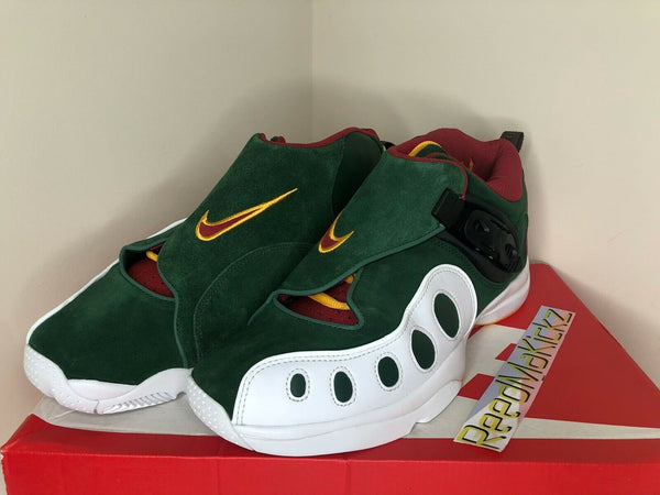 Nike Zoom GP Sonics Gary Payton Cosmic Bonsai Green Mens AR4342 300