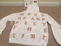 Kanye west Woke up and felt the vibe Hoodie White Philadelphia Life of Pablo
