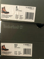 Timberland 6 inch Premium Black Waterproof Boots Nubuck Colorblock TB0A29NW 001