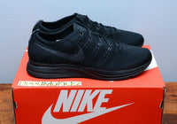 Nike Flyknit Trainer 2018 Triple Black Mens sizes AH8396 004
