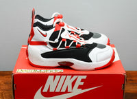 Nike Air Swoopes 2 White University Red womens sizes 917592 100