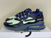 Nike Air Max 270 React Future Swoosh Black Grey Purple Mens CT1617 001