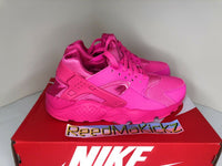 Nike Air Huarache Run Laser Fuchsia Pink Grade School Youth Sizes 654275 607