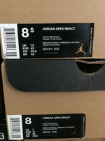 Jordan Apex React Cream Light Beige Mens BQ1311 206