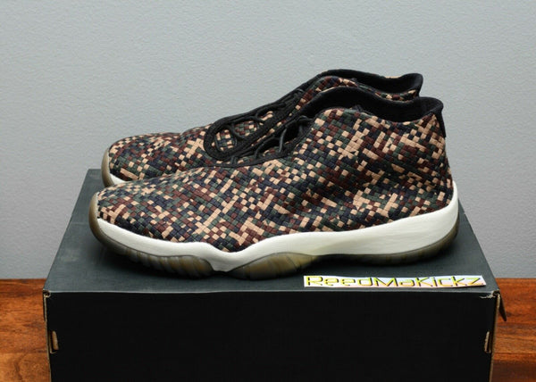 Nike Air Jordan Future Premium Camo Dark Army Mens sizes 652141 301