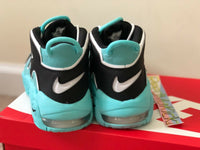 Nike Air More Uptempo Light Aqua grade school youth sizes 415082 403