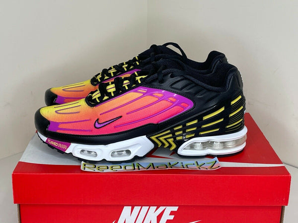 Nike Air Max Plus 3 III Hyper Violet Black DAMAGED BOX Mens CJ9684 003