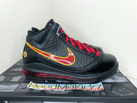 Nike Lebron 7 VII QS 2020 Fairfax Away Black Red Mens CU5646 001