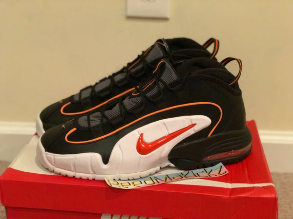 Nike Air Max Penny 1 Black Total Orange Mens sizes 685153 002