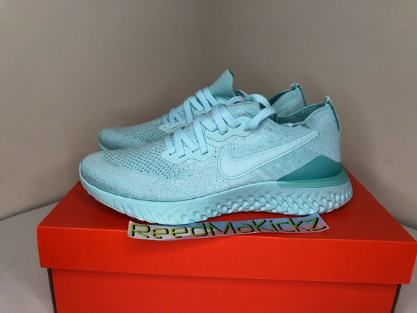 Nike Epic React Flyknit 2 Teal Tint Womens BQ8927 300