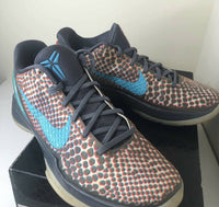 Nike Kobe 6 VI All star Hollywood 3D Mens 9.5us PRE OWNED 448693 001